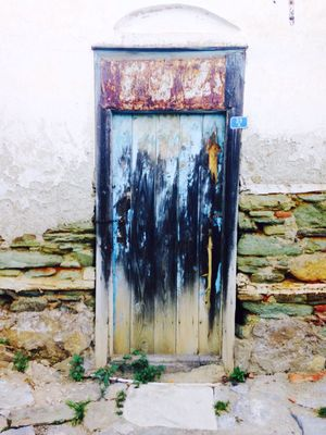 Abandoned Background Bad Condition Corrosion Door Old Door Rustic Colorful Turkey