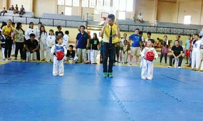 Red armor is my cousin?? Tkd Tkd Is My Love And My Life