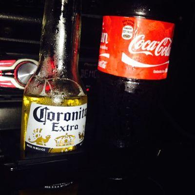 Corona y Cocacola ... Sabado ven a mi Igersperu Instagramperu Me Beer cerveza
