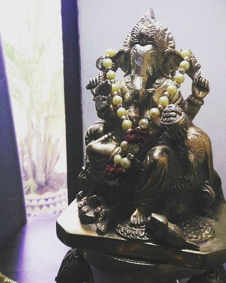 While reading Meluha I fell in love with the character of Lord Ganesha!! God I wish it was no fiction and all of the triology was true!! Shivatriolgy Ganesha Still Golden Meluha Gotafeelinlikeindy
