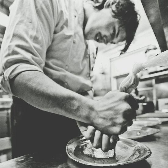 Chef Alex Karibjorn Blackandwhite Restaurant New York City
