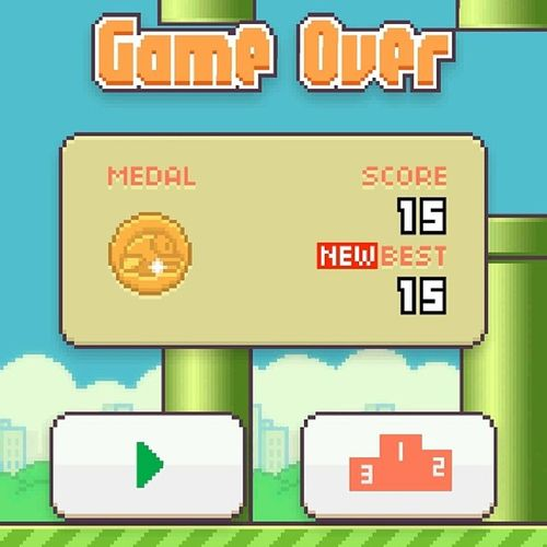 I almost broke my phone fuckin playing this game. Beastdoe Flappybird