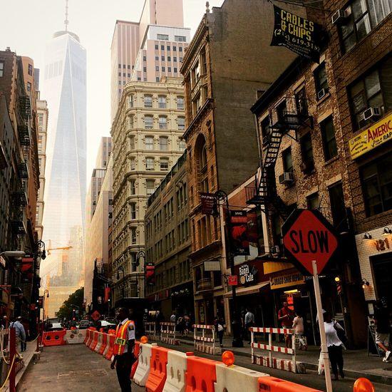 I Heart New York Fulton Street, Manhattan NYC Photography