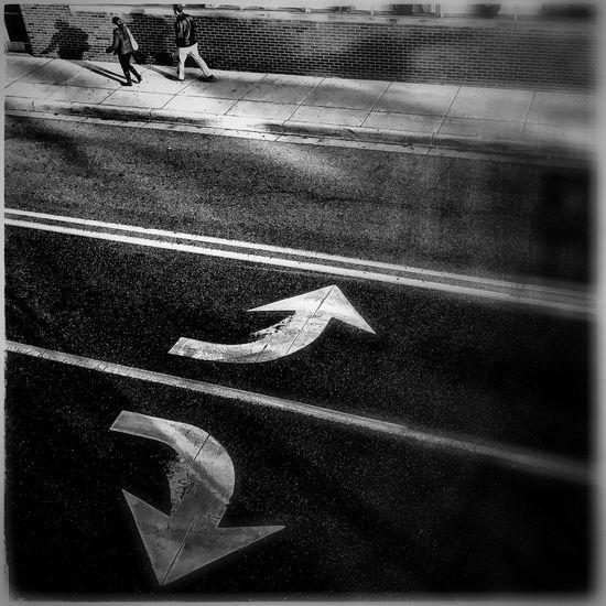Streetphotography Blackandwhite Shadow Arrows