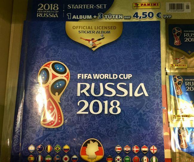 Panini - FIFA World Cup Russia 2018 Sticker Collection FIFA World Cup Russia FIFA World Cup Of 2018 Fifa Russia 2018 Sticker Stickers Championship Close-up Fifa World Cup No People Panini Panini Stickers Sport World Cup