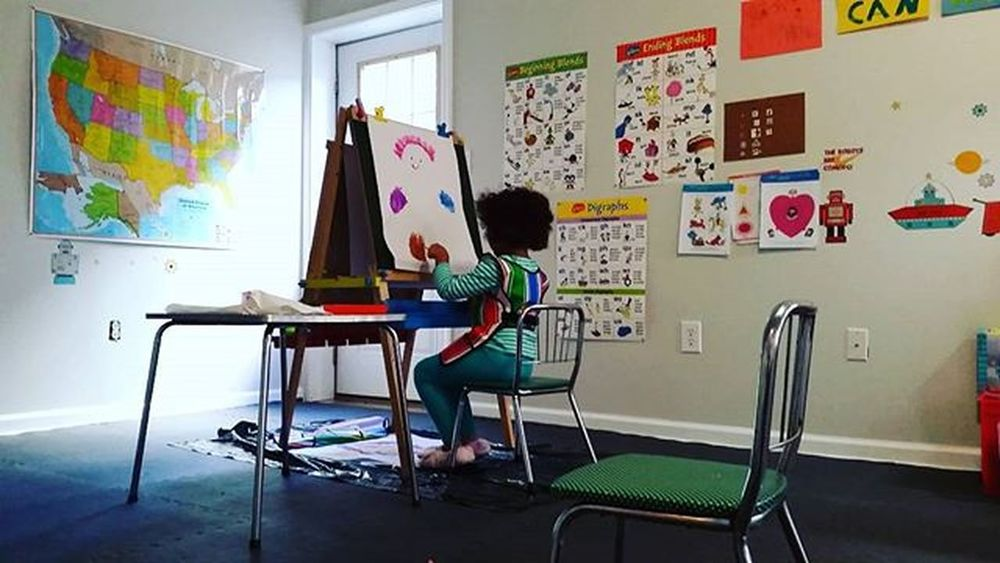 Artist in residence @ the Pinnock School for Girls Childhoodunplugged Shootyourlife Unforgettableinstagram Homeschool TeamPinnock