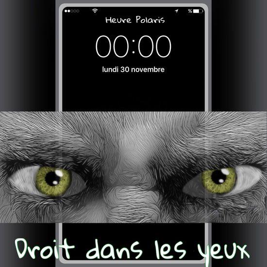 00H00 Droit dans les yeux 👀👁👀 HEURE POLARIS ThatsMe Draw C'EST MOI Moi Mes Yeux EyeEm Eye Oeil Dessin