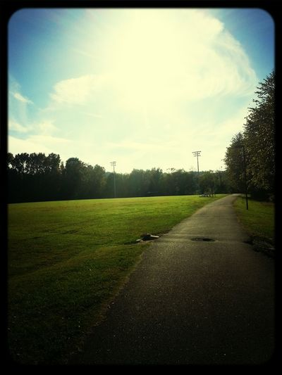 Fun day running(:
