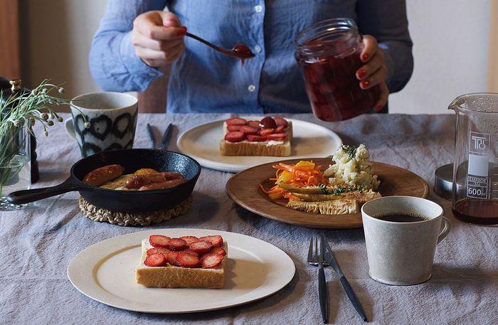 朝食 Coffee Onmytable Onthetable 食卓 おうちカフェ 暮らし Life Contrast Nikon Japan My Favorite Breakfast Moment Breakfast Morning Interior おうちごはん Table Foodstyling Food 朝ごはん