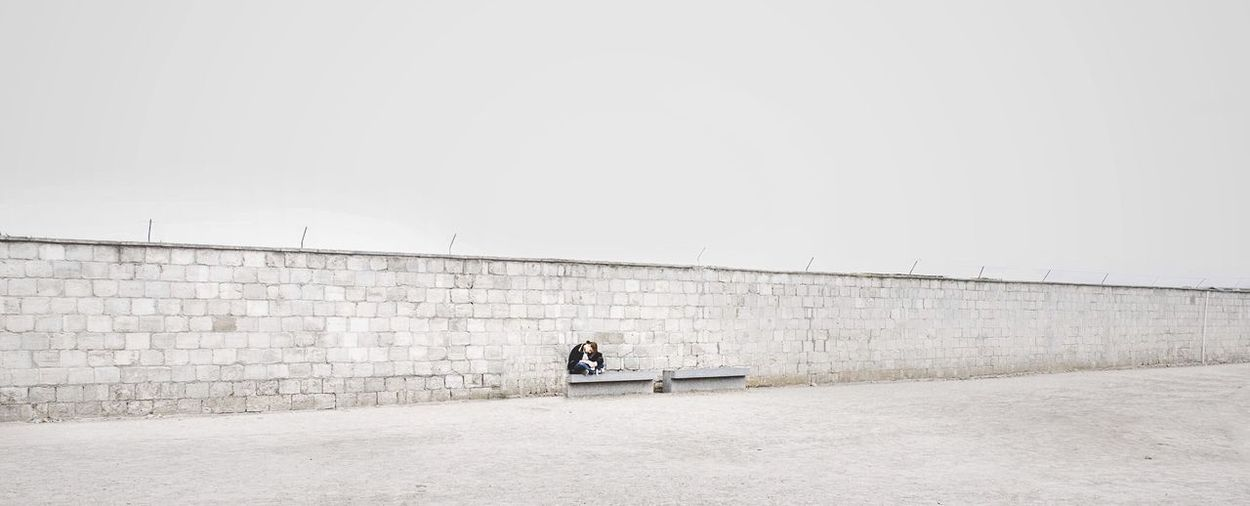 - AND ALWAYS REMEMBER; THE WALLS ARE IN YOUR HEAD - White Album Streetlife Urban Alone People Watching Hanging Out Minimalism Minimal White EyeEm Masterclass Taking Photos Check This Out Wall Waiting Berlin Simple Peoplephotography Saturday Showcase: November Perfect Match