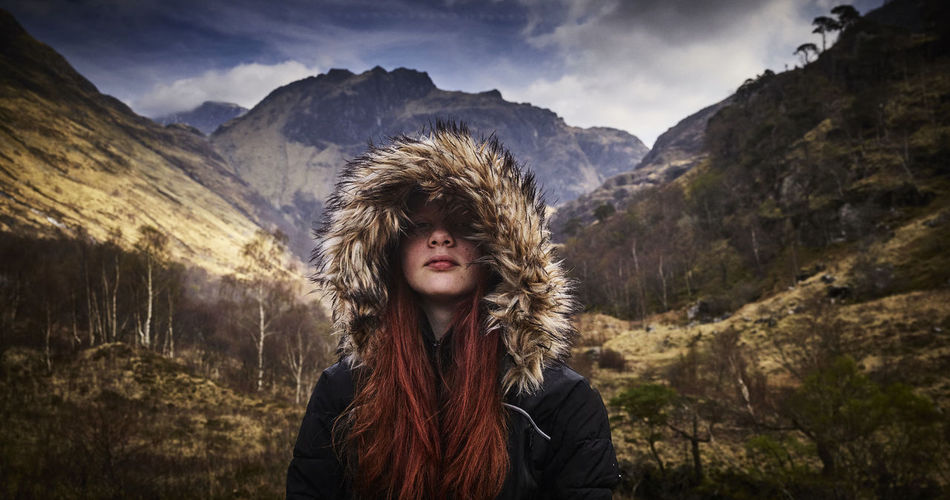 Girl in the Mountains Scotland 💕 Beauty In Nature Blond Hair Cold Temperature Day Front View Happiness Headshot Leisure Activity Lifestyles Looking At Camera Mountain Mountain Range Nature One Person Outdoors Portrait Real People Scenics Sky Smiling Snow Standing Warm Clothing Winter Young Adult Young Women