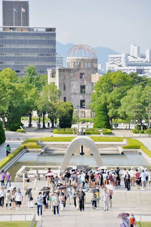 Hiroshima Hiroshima,japan Atomic Atomic Bomb History Historic Historical Building Memories Memorial Histrorical Building Historical Historical Monuments Architecture Architecture_collection Peace War Japan Japanese  Japan Photography Japan Scenery