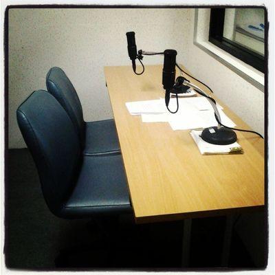 My work room, @88.5 Chiangmai Live FM.