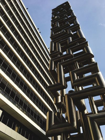 Architecture Building Exterior Low Angle View Built Structure Tower Sky No People Outdoors Modern Skyscraper Modern Modern Art Modern Architecture Building Metalwork Metal Art