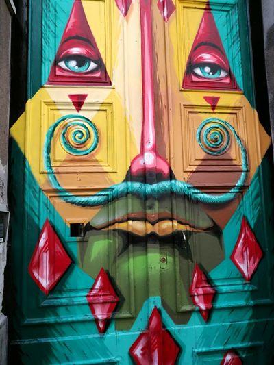 Face-door Clock