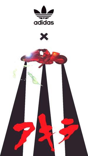Akira Adidas Poster Art Pop Art Design
