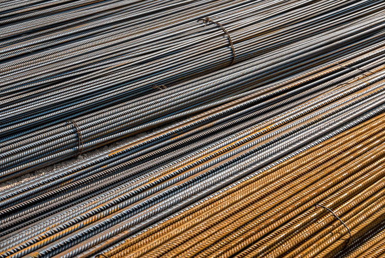 Structural steel Full Frame Backgrounds Pattern Metal Close-up No People Large Group Of Objects Silver Colored Abstract Industry Abundance Textured  Stack Silver - Metal Still Life Gray Day Textile Steel Metal Industry Iron Alloy Structural Steel Bundle