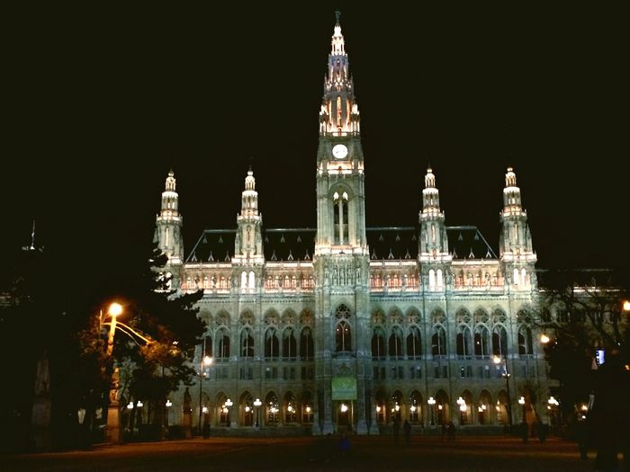 Walking Around Wien Vienna  Austria Happy Time Chunsumonpics Nuple Beautiful Day Night Lights