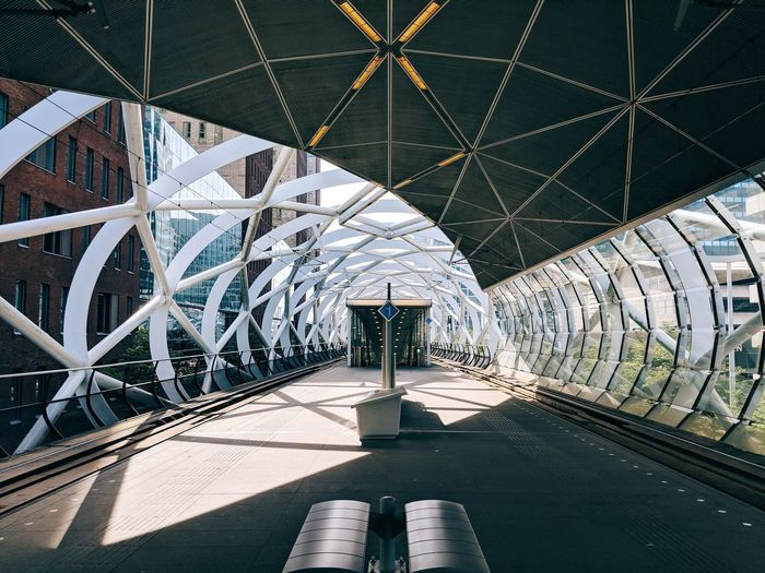 Metro The Architect - 2018 EyeEm Awards City Architecture built structure Architecture_collection The Architect - 2018 EyeEm Awards City Built Structure Sky Double Yellow Line Railroad Track Diminishing Perspective The Way Forward Tall - High 10