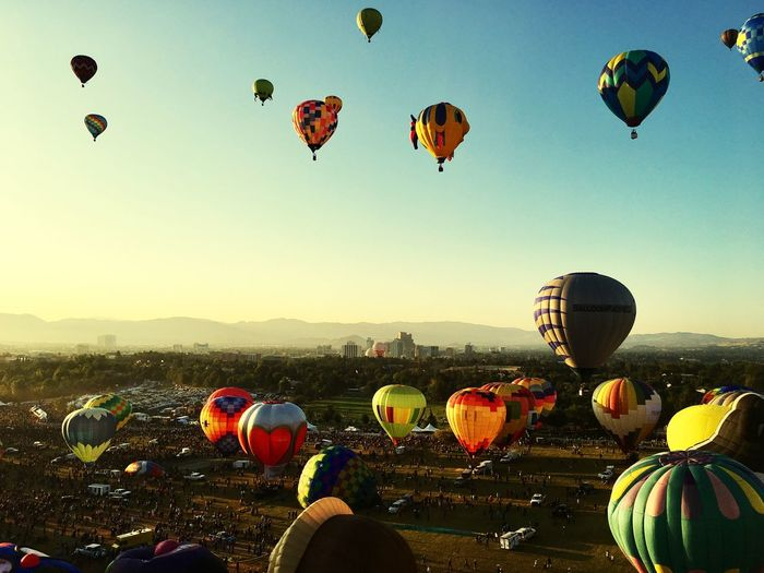 Flight Tranquil Scene Tranquility Hot Air Balloon Ballooning Festival Mid-air Flying Sky Adventure Traditional Festival Air Vehicle Outdoors
