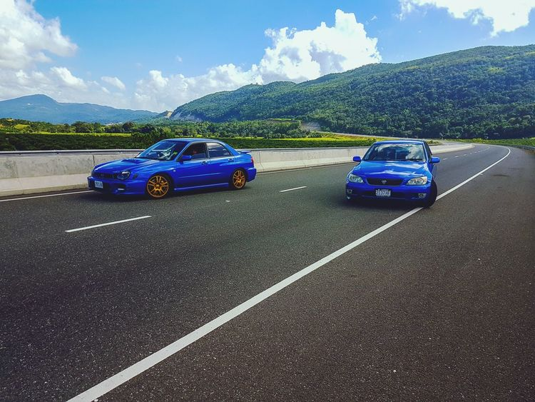 Finding New Frontiers S7edgephotography Travel Cars Highway Subaru Impreza Wrx STi Altezza Hillside The Great Outdoors - 2017 EyeEm Awards