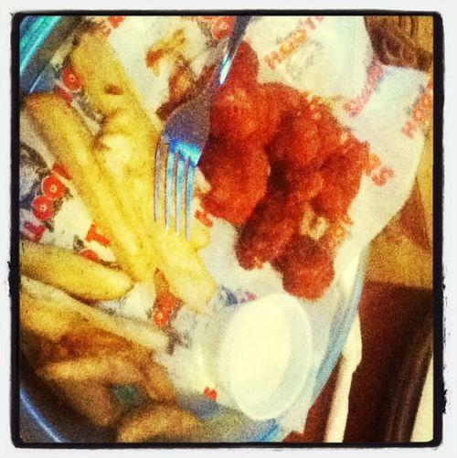 Eating At Hooters