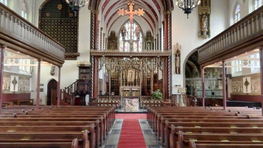 Church interior. St Paul's Knightbridge.