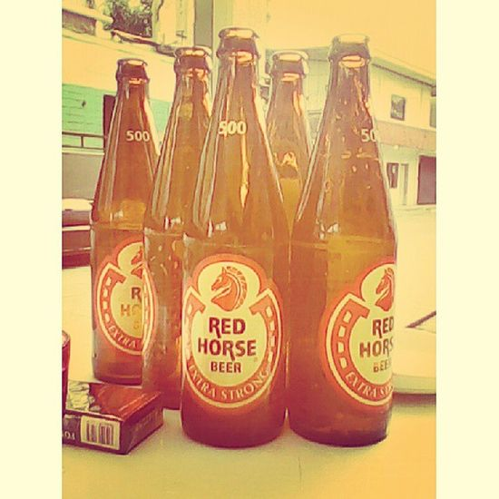 Care for another round? SlowdownSunday Redhorse Beer