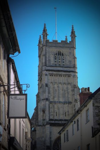 Cirencester Abbey EyeEmNewHere Architecture Building Exterior Built Structure Building Sky Low Angle View Clear Sky Place Of Worship Tower Day Outdoors