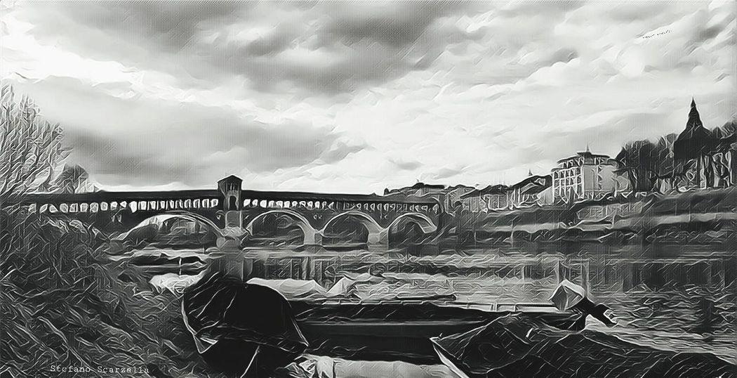 River Bridge - Man Made Structure Sky Cloud - Sky