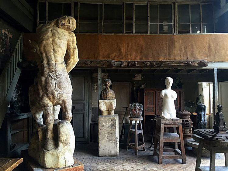 Museum Paris Sculpture Sculptures Art Artist Bourdelle OpenEdit