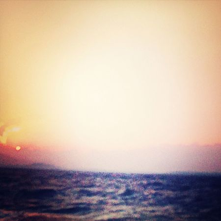 Sea And Sky Beautiful Sunset Natural Beauty Escaping