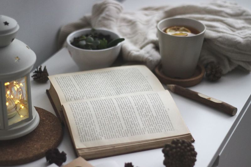 Table Food And Drink Drink High Angle View Paper Indoors  No People Refreshment Publication Healthy Eating Still Life Mug Cup Book Food Wellbeing Coffee Cup Freshness Text Bowl Focus On The Story Focus On The Story