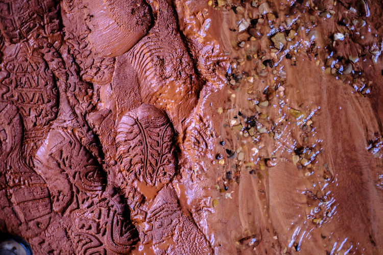 Nature VS Man USA Zion National Park Abundance Backgrounds Brown Close-up Craft Day Directly Above Food And Drink Full Frame Human Traces Indoors  Large Group Of Objects Natural Pattern Nature No People Pattern Solid Still Life Textured  Textured Effect Water Wood - Material
