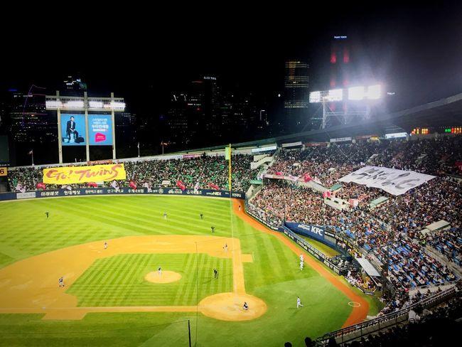 Postseason LG Twins Baseball Stadium Baseball Field Enjoying Life Sport Baseball Stadium IPhoneography Hello World