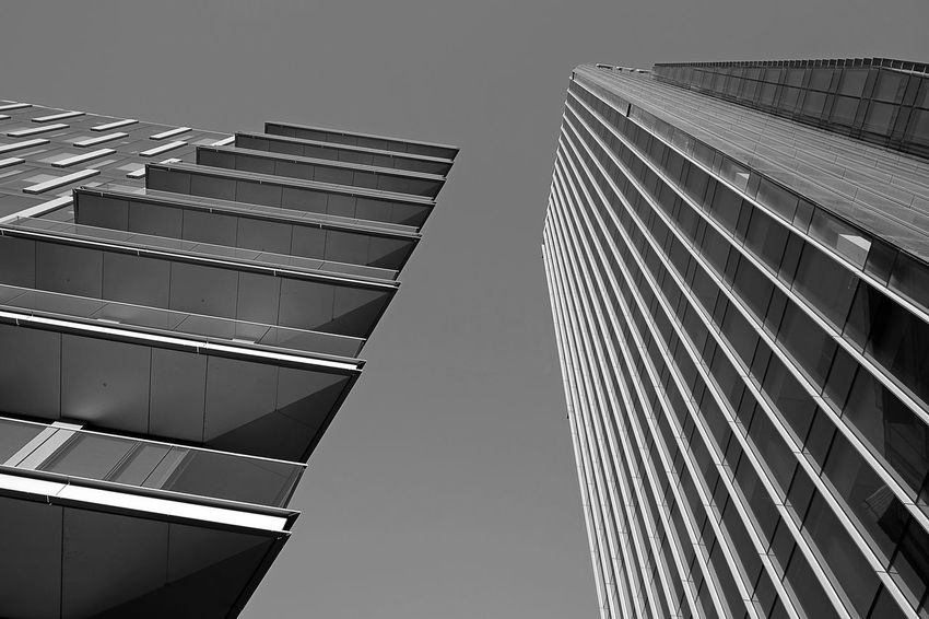 Architecture Architecture_collection Black & White EyeEm Best Shots EyeEm Selects EyeEm Gallery EyeEmNewHere Milan Milano Architecture Architecturelovers Black And White Blackandwhite Blackandwhite Photography Building Exterior Built Structure City Italy Low Angle View Modern No People Outdoors Skyscraper