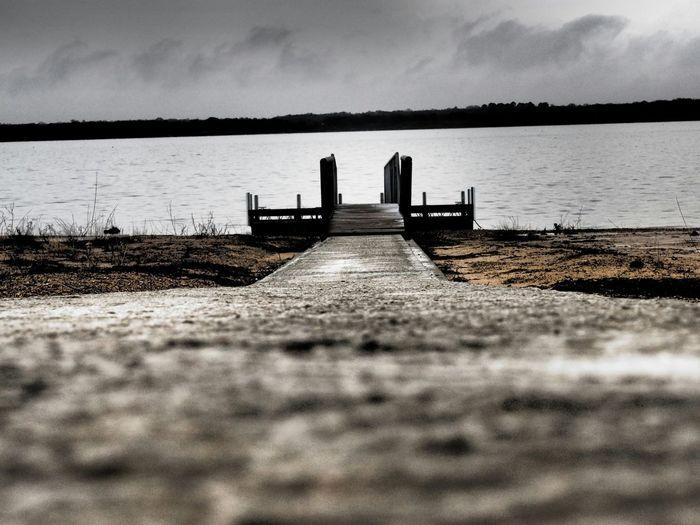 Lake View Lakeshore Lakeside Grapevine Docks Cold Days