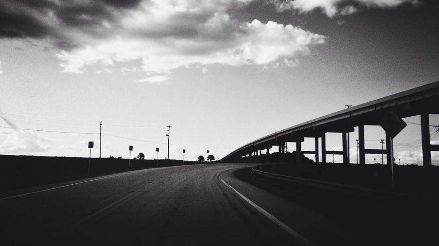 Black And White Blackandwhite Black & White On The Road