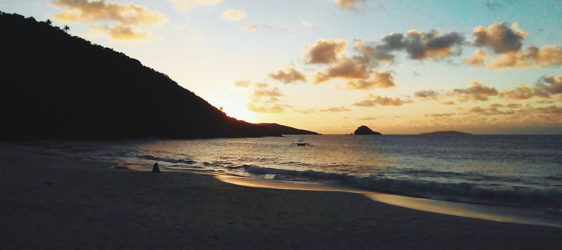 Beach Calaguas Clouds Orange Skies Outdoors Philippines Summer Sunrise Sunset Water