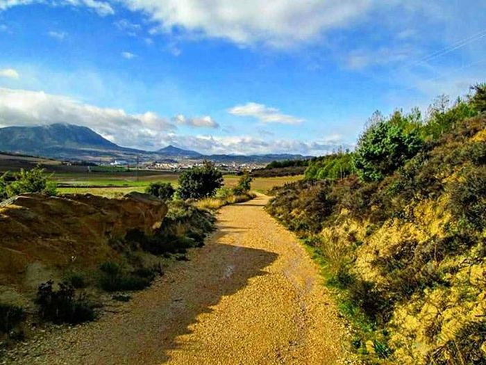 SPAIN Travel Scenery Adventure CaminodeSantiago Hike Hiking Camino Nature Ontopoftheworld Santiago Europe BuenCamino Landscape Theway Mountains Mountain Path Clouds Cloud Walk Walking Thewayofstjames Thewaytosantiago Caminofrances caminofrancés view backpacking bluesky blueskies
