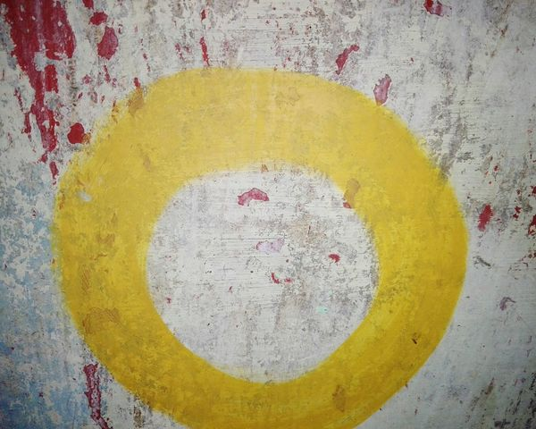 Yellow Multi Colored Paint No People Holi Close-up Outdoors Weathered WOLFZUACHiV Photography Huawei Photography On Market WOLFZUACHiV Photos Wolfzuachiv Veronica Ionita Ionita Veronica Eyeem Market Huaweiphotography Paint Letter O Zero Letter Number O Painted Image Paint The Town Yellow