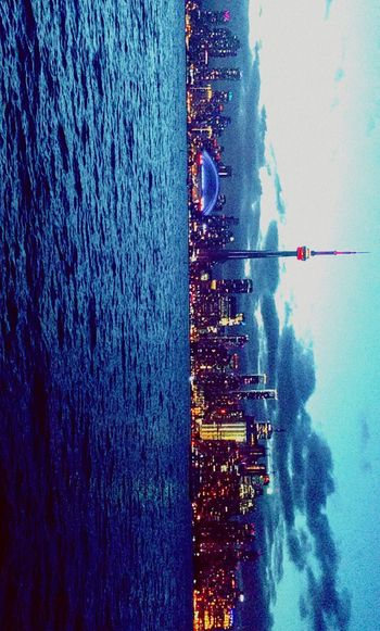 Toronto city from central islands Nexus 6p shot
