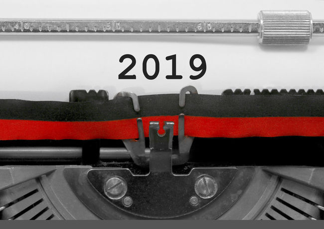 2019 Number by the old typewriter 2018 2019 2019 Year 31th December BIG NR New Year Numbers Only Retro Text Type Writer Word Writing Backgrounds Capodanno Number Numbers Numerals Numeric Page Typewriter Typewriting Typing Vintage Written