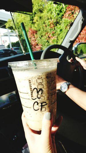 Starbucks Coffee Drink Outdoors Verygood Very Nice Car Fashion