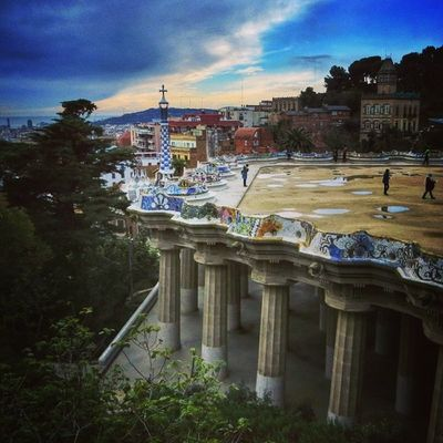 Park Guell, Barcelona #splendiaHotels #ig_cityGuide splendiaHotels Ig_cityguide Splendiahotels