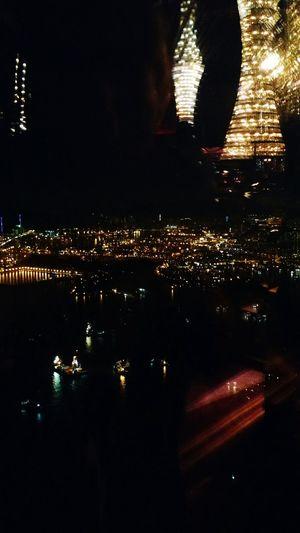light & refresh Lights Ozonebar Hong Kong HUAWEI Photo Award: After Dark Water City Reflection Illuminated Sky