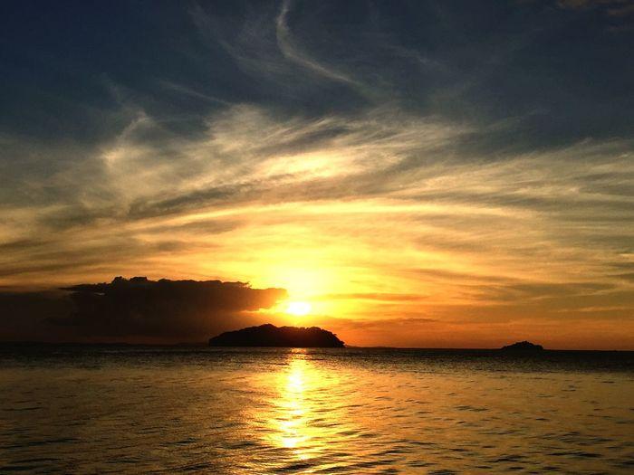 Sabahgo Maliangin Island Beach Sunset_collection Sunset