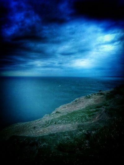 Eastbourne England Skyporn Sea Blue Storm