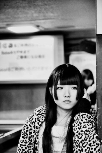 Tokyo Japanese Culture Japanese Style Japan Photography Japanese Girl Portrait Blackandwhite Blackandwhite Photography TakeshitaDori RePicture Travel