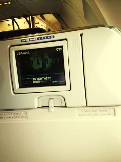 Long flight...